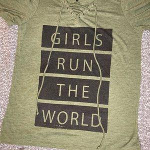 Girls Run The World Shirt